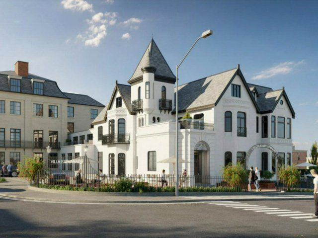 The plans for the Villa Esplanade.