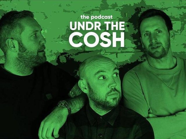 NEW DATE: For the Under The Cosh Podcast Live Show at Scarborough Spa