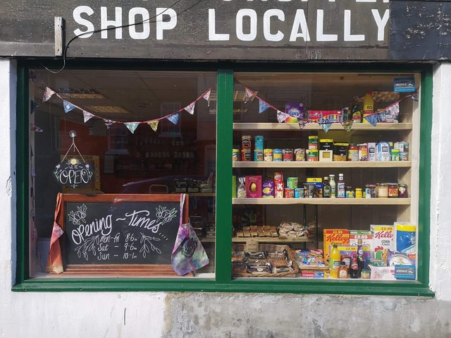 The newly-opened Whitby Railway Community Shop.