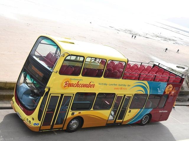 The Beachcomber bus in Scarborough