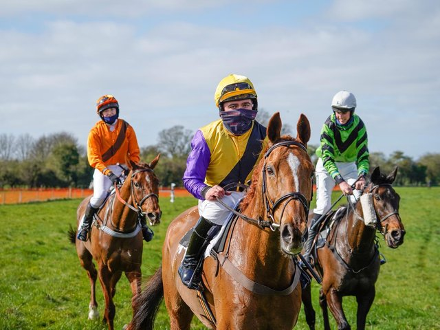 Cup Final won the Grimthorpe Gold Cup race  Photo by Tom Milburn Photography