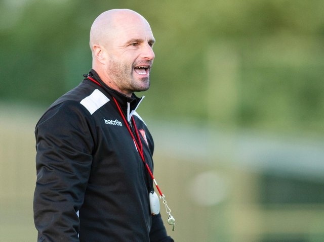 Darren Kelly is in optimistic spirits as he looks to build a strong squad for next season