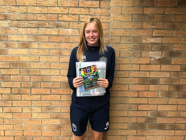 Olivia Hall has been recognised by the North Riding County FA
