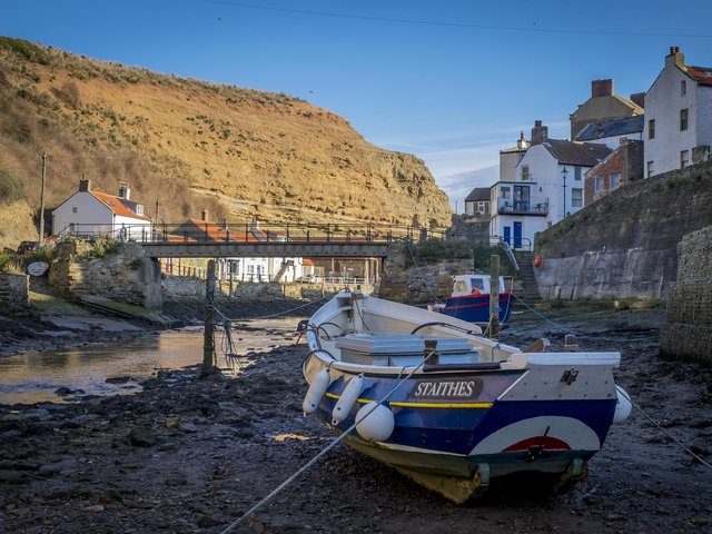 Residents have complained of the Cowbar area, near Staithes, being used as a dumping ground for waste and chemical toilets.