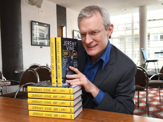 Broadcaster Jeremy Vine returns to Books by the Beach