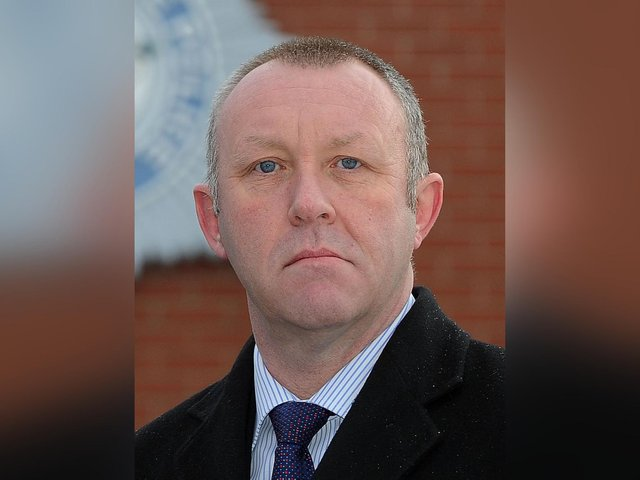 Mike Stubbs, former chairman of the North Yorkshire Police Federation