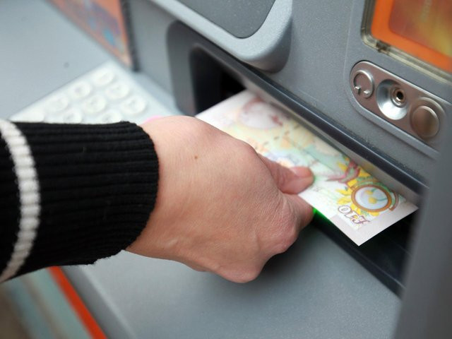 A cash machine was stolen overnight in Eastfield. Stock image.