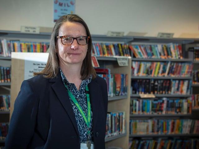Clair Foden, new headteacher at Lady Lumley's School, Pickering