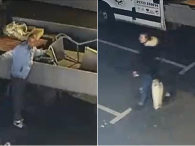 WANTED: Do you recognise this duo who stole from a van in Scarborough?