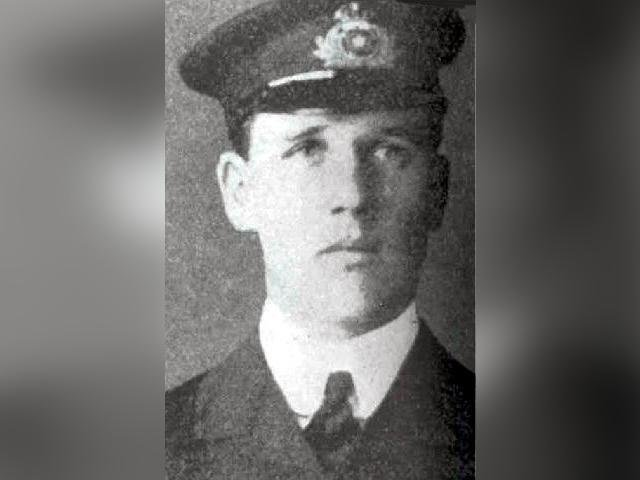 The Titanic's Sixth Officer, James Moody.