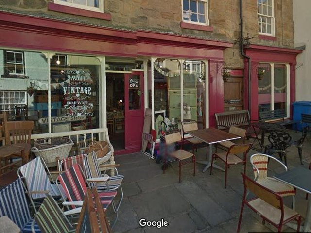 Dotty's teamrooms in Staithes. (Photo: Google)