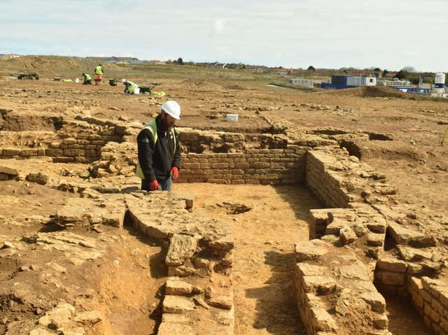 Work on site (photo: MAP Archaeology)