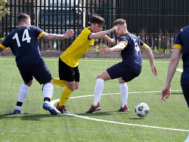 PHOTO FOCUS: Trafalgar 3-3 Yarm Town / North Riding Sunday Challenge Cup / Pictures by Richard Ponter