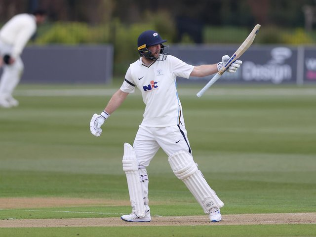 HIGH PRAISE: England captain Joe Root has heaped praise on Yorkshire opener Adam Lyth. Picture: Getty Images