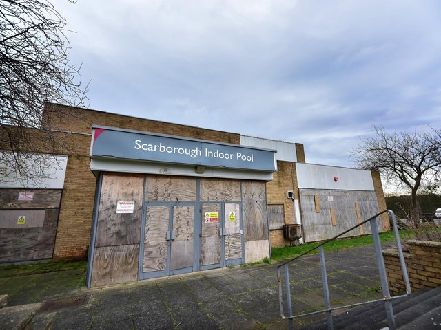 Scarborough's indoor pool will now be demolished.