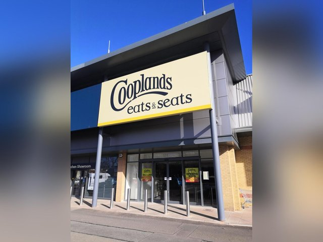New Cooplands store at Seamer Road retail park.
