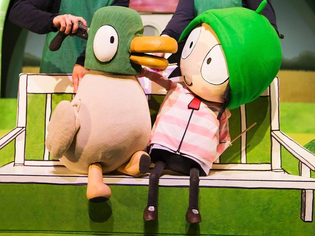 Sarah & the Duck will visit Scarborough Spa in July