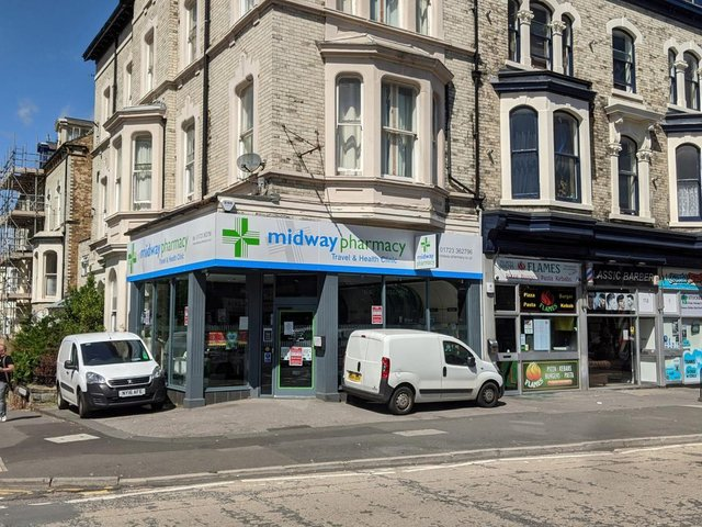 Midway pharmacy on Ramshill Road