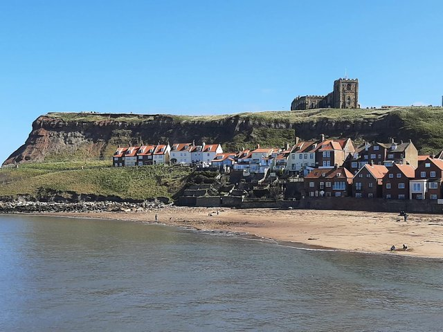 Whitby on a glorious spring day.