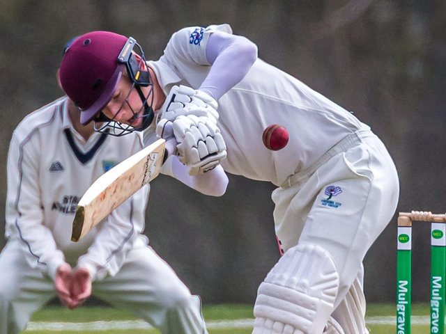 SEASON OPENER: Mulgrave hosted Staithes on the first day of he 2021 CPH Scarborough Beckett League season. Pictures: Brian Murfield