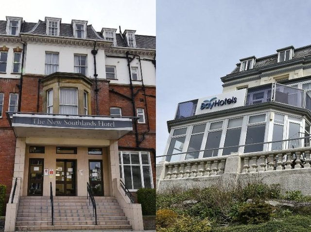 The hotels both closed when The Specialist Leisure Group collapsed last year.