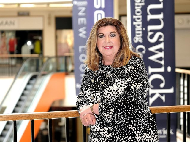 Sue Anderson-Brown, manager at the Brunswick Centre.