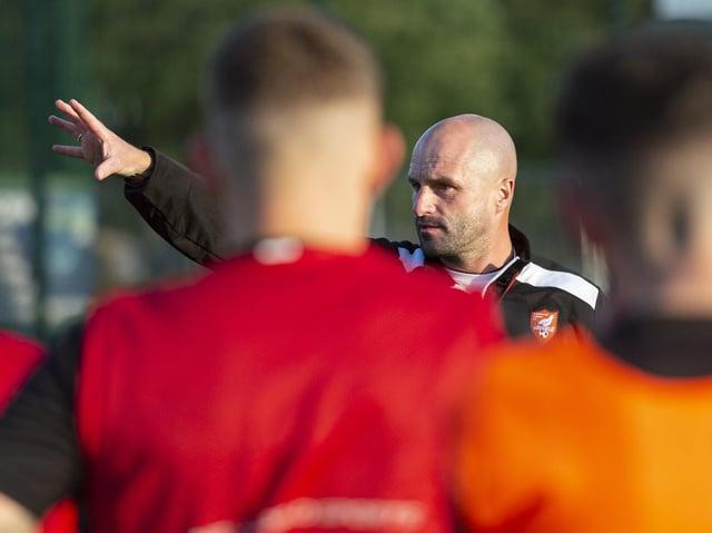 Boro boss Darren Kelly. Picture: Will Palmer