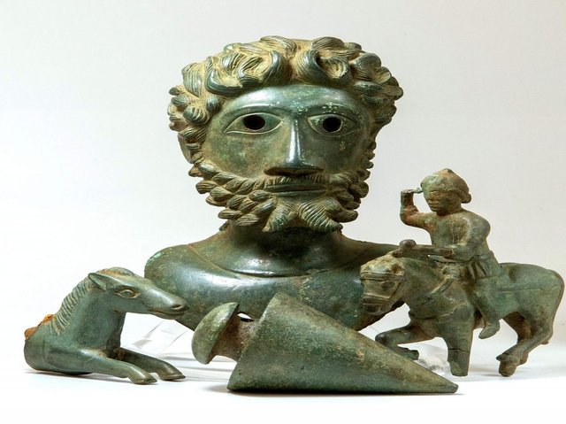 The incredible Roman bronzes discovered in a Ryedale field. (Photo: Hansons)
