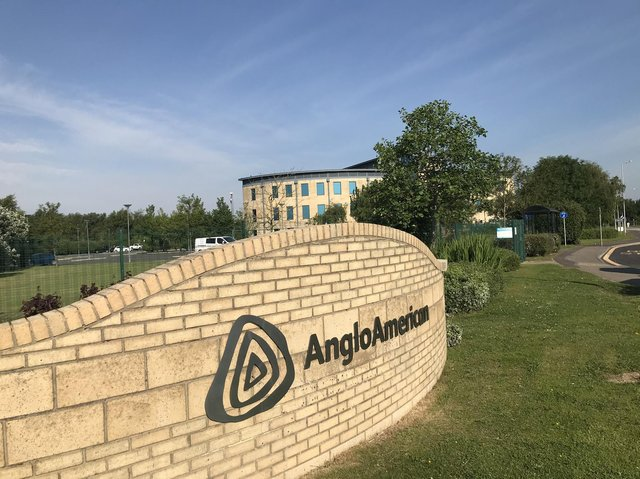 Anglo American site building.