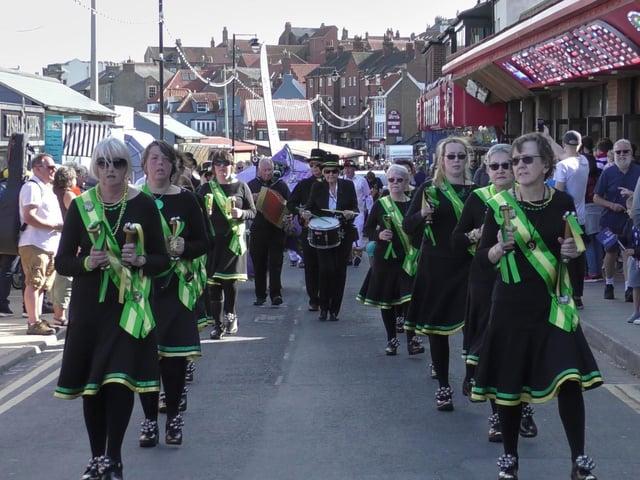 Whitby Folk Week merriment.