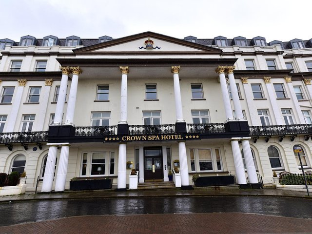 The Crown Spa Hotel's bosses innocently took on a man as deputy manager who had given a false identity.
