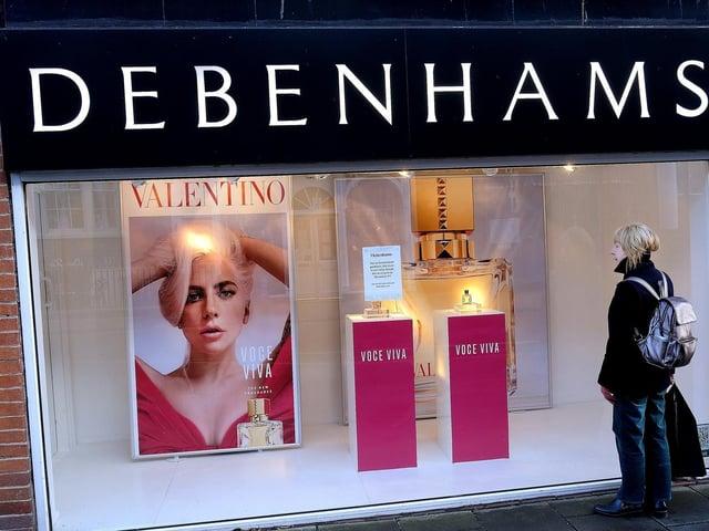 Scarborough's Debenhams store to close in the next 10 days.