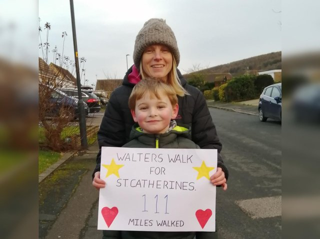 Walter with mum Juliet