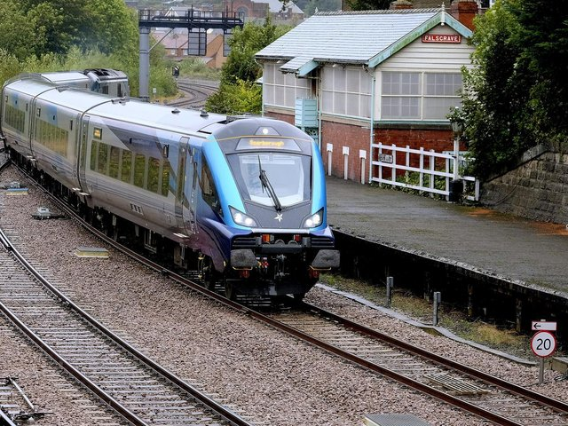 """""""We apologise to customers affected for the inconvenience caused,"""" said Transpennine Express."""