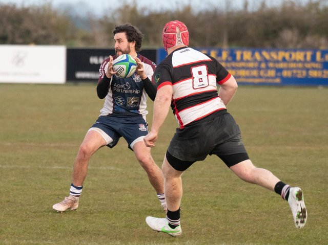 Tom Harrison in action against Malton & Norton  Photo by Andy Standing