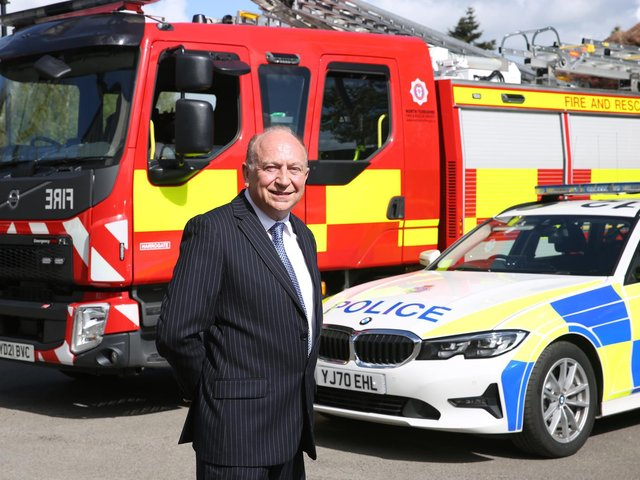 North Yorkshire's new Police, Fire and Crime Commissioner, Philip Allott.