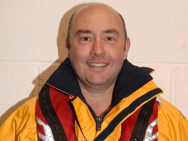 Lifeboat volunteer Mark Jenkinson. (Photo: Scarborough Lifeboat Station)