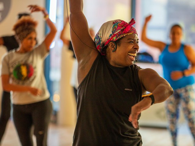 Group exercise classes are back from May 17.