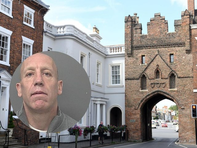 Karl Pettitt (inset) has been jailed for his role flooding the streets of East Yorkshire with cocaine under the guise of an antiques dealer on Beverley's North Bar