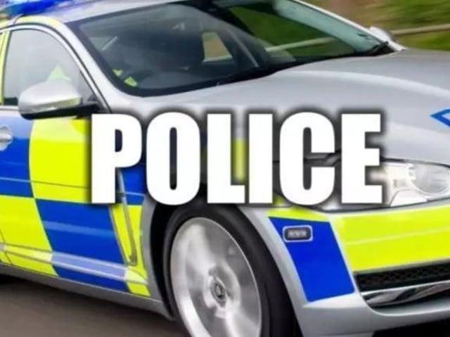 Police stopped the car near Malton.