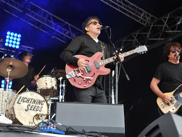 The Lightning Seeds pictured in 2019.