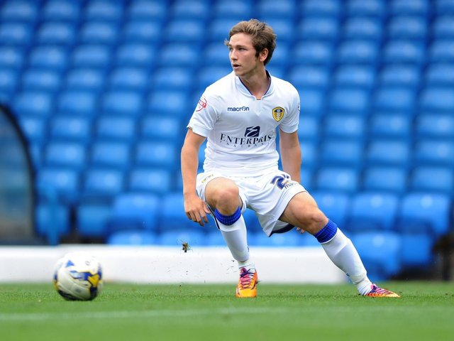 Chjris Dawson in action during his time with Leeds United.