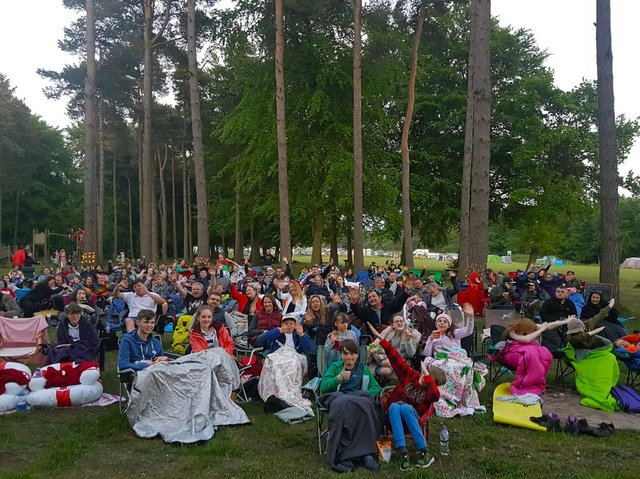 Dalby Forest pop-up cinema is back.