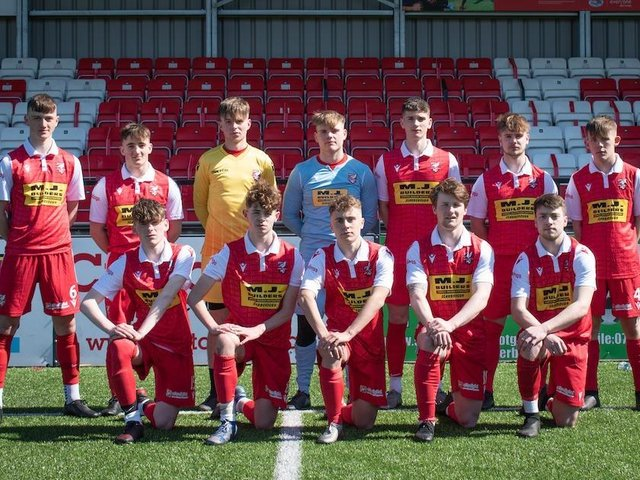 Boro U19s are in cup final action on Sunday.