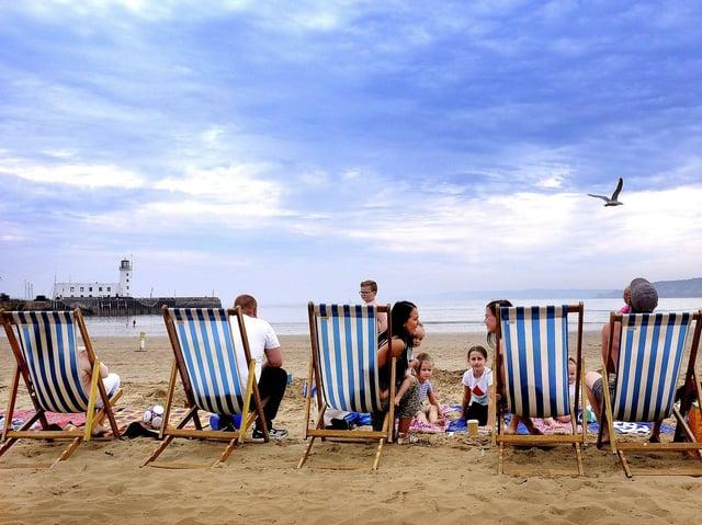 Sunshine in Scarborough in 2020. Picture: Richard Ponter/ JPI Media