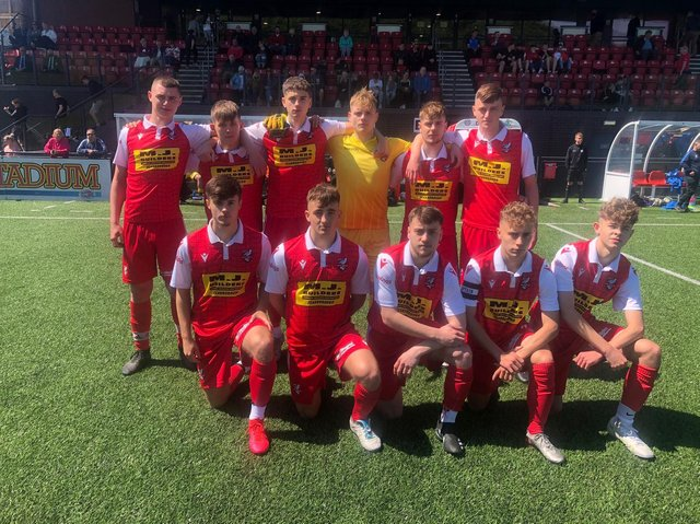 Scarborough Athletic Under-19s won the County Cup final.