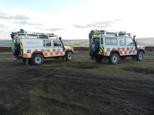 Rescue teams were called to three incidents over the weekend. Stock image.