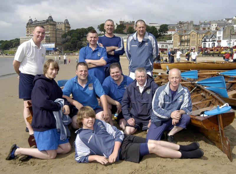 Whitby Fishermen rowing team.