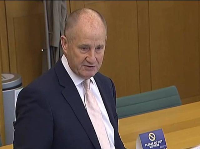 Kevin Hollinrake addressing MPs.