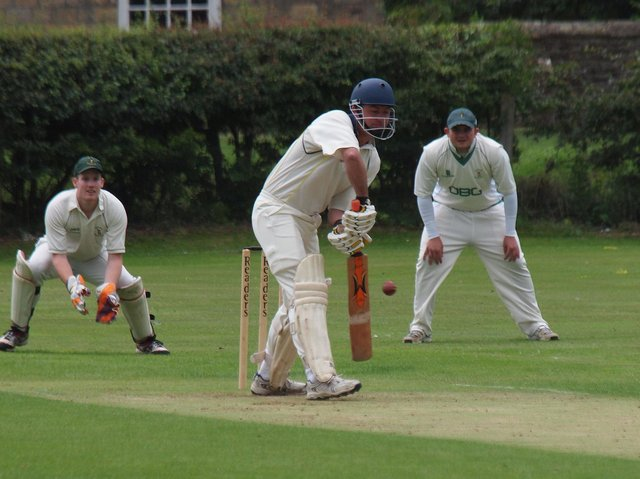 Mike Horsley shone for Ebberston 2nds.